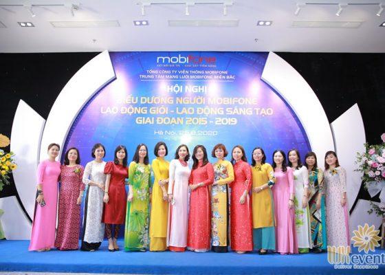 tổ chức hội nghị biểu dương điển hình tiên tiến Trung tâm mạng lưới Mobifone miền Bắc 027