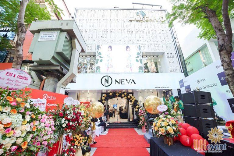 tổ chức khai trương showroom thời trang tại Hà Nội