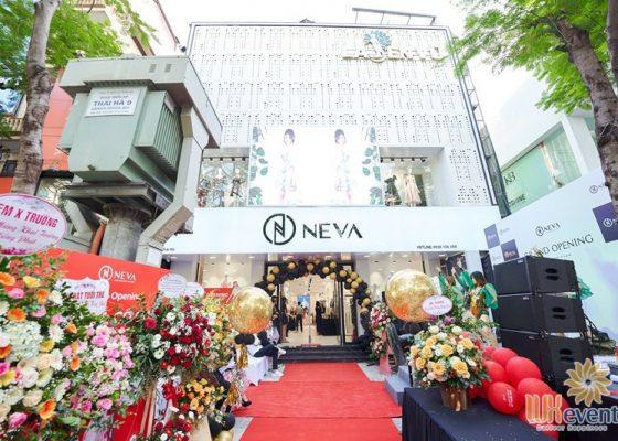 Tổ chức khai trương showroom thời trang NEVA 004