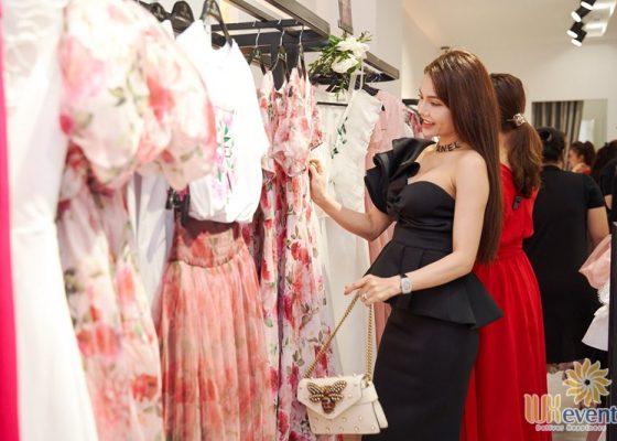 Tổ chức khai trương showroom thời trang NEVA 009