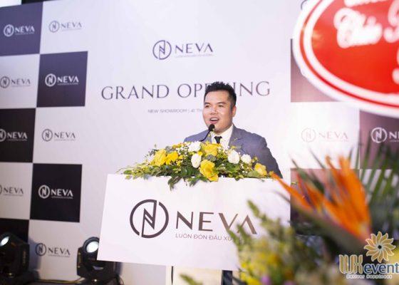 Tổ chức khai trương showroom thời trang NEVA 012