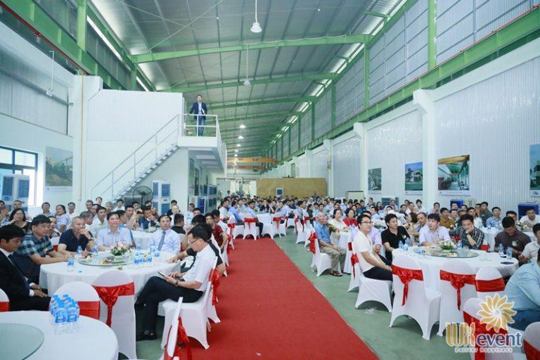 tổ chức sự kiện khai trương khánh thành nhà máy