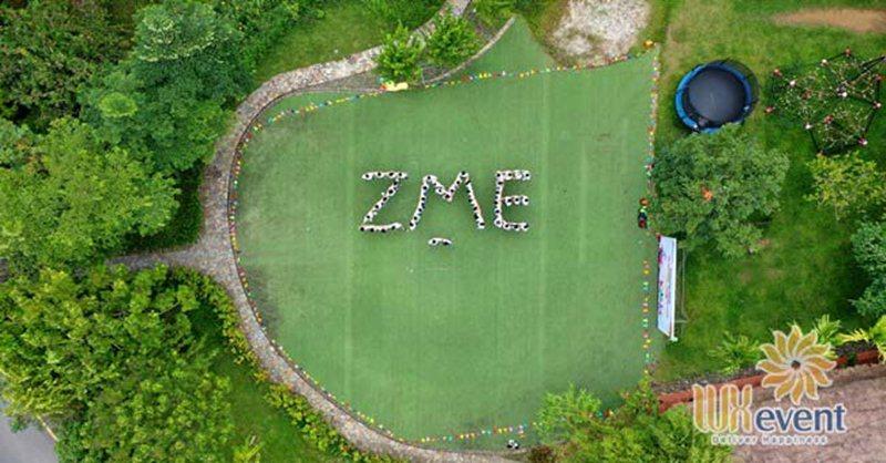tổ chức du lịch team building hòa bình ZME 001