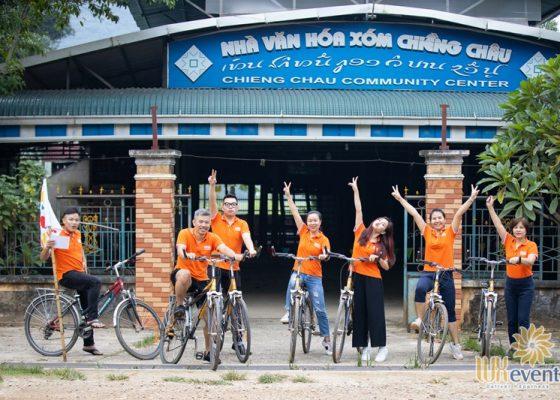 tổ chức du lịch team building Mai Châu - BNI Alignment 015