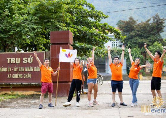 tổ chức du lịch team building Mai Châu - BNI Alignment 005