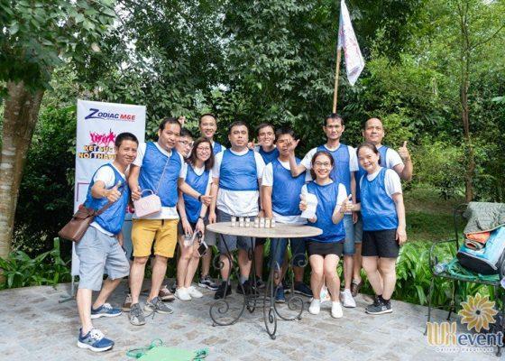 tổ chức du lịch team building hòa bình ZME 022