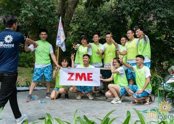 tổ chức du lịch team building hòa bình ZME 009