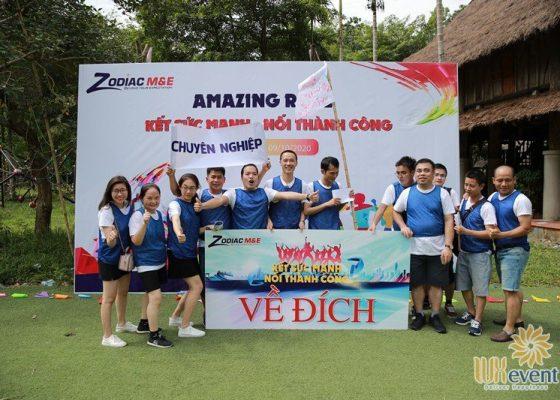 tổ chức du lịch team building hòa bình ZME 020