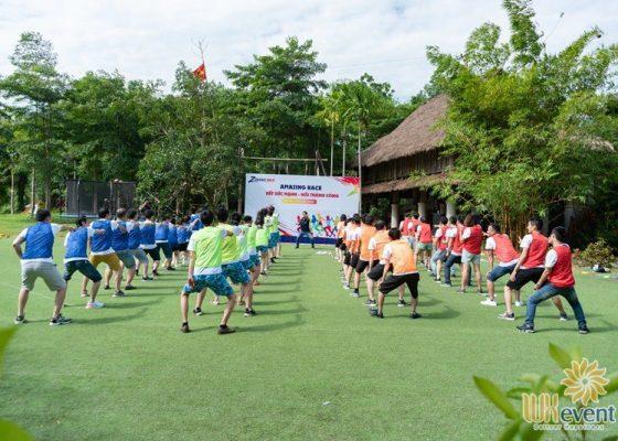 tổ chức du lịch team building hòa bình ZME 008