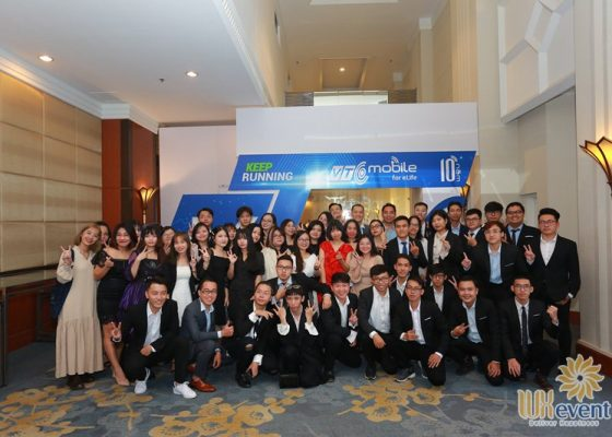 tổ chức lễ kỷ niệm 10 năm thành lập công ty VTC Mobile 030