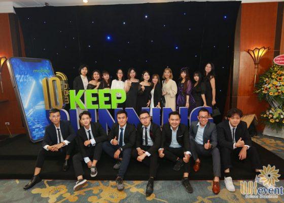 tổ chức lễ kỷ niệm 10 năm thành lập công ty VTC Mobile 029