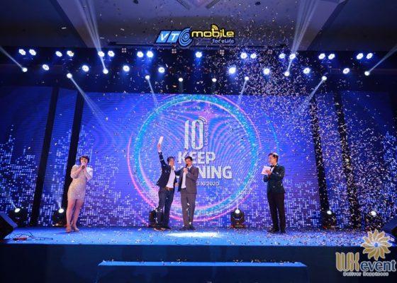 tổ chức lễ kỷ niệm 10 năm thành lập công ty VTC Mobile 014