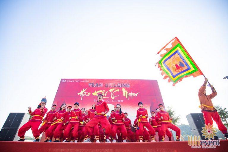 tổ chức team building tại Hà Nội chuyên nghiệp