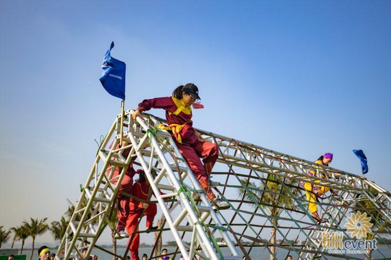 tổ chức team building gần Hà Nội
