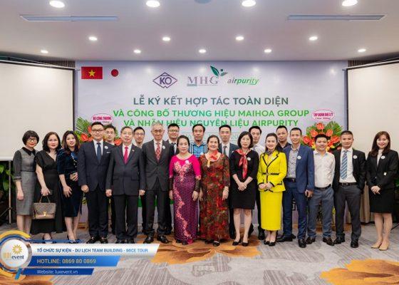 tổ chức lễ ký kết hợp tác toàn diện Mai Hoa Group 004