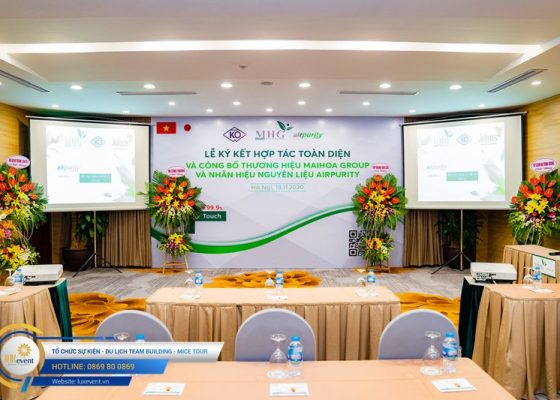 tổ chức lễ ký kết hợp tác toàn diện Mai Hoa Group 005