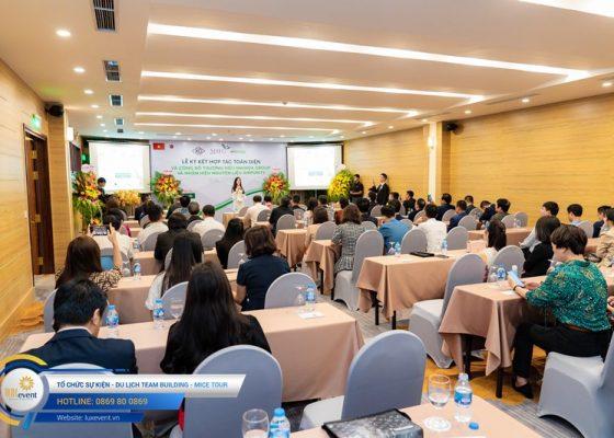 tổ chức lễ ký kết hợp tác toàn diện Mai Hoa Group 011