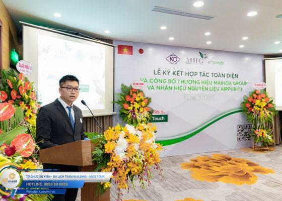 tổ chức lễ ký kết hợp tác toàn diện Mai Hoa Group 012