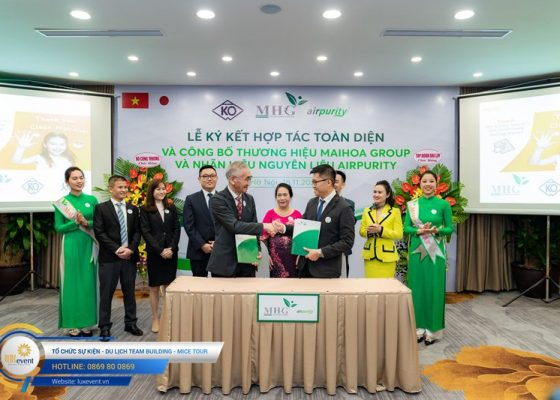 tổ chức lễ ký kết hợp tác toàn diện Mai Hoa Group 008