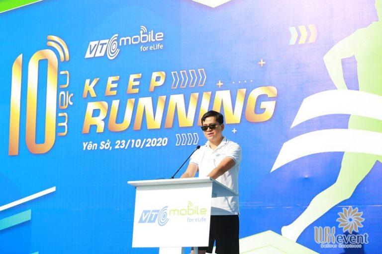 tổ chức giải chạy chào mừng lễ kỷ niệm thành lập công ty