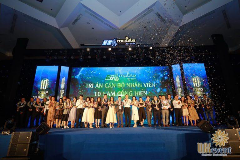 tổ chức lễ kỷ niệm 20 năm thành lập công ty vtc