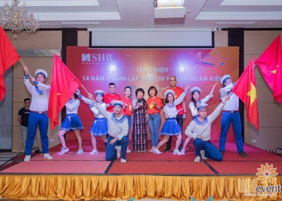 tổ chức lễ kỷ niệm thành lập chi nhánh SHB Hoàn Kiếm 010