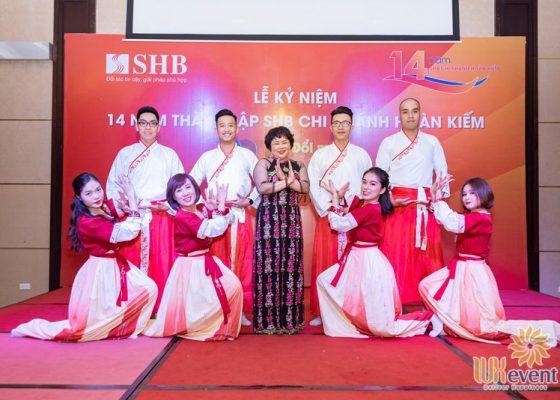 tổ chức lễ kỷ niệm thành lập chi nhánh SHB Hoàn Kiếm 012