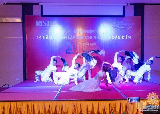 tổ chức lễ kỷ niệm thành lập chi nhánh SHB Hoàn Kiếm 015