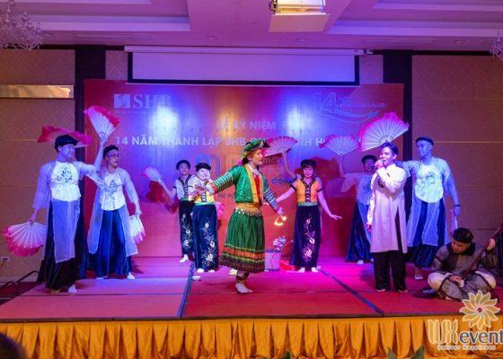 tổ chức lễ kỷ niệm thành lập chi nhánh SHB Hoàn Kiếm 016