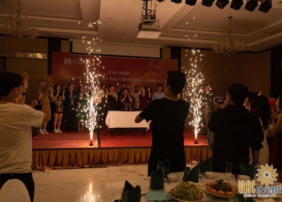 tổ chức lễ kỷ niệm thành lập chi nhánh SHB Hoàn Kiếm 018