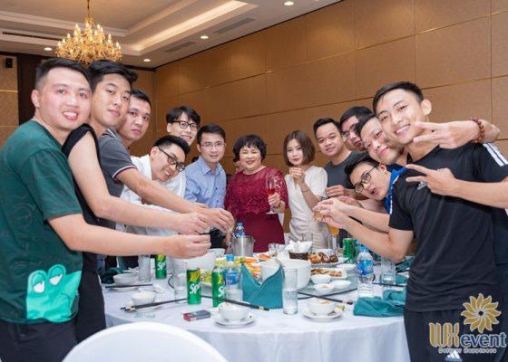 tổ chức lễ kỷ niệm thành lập chi nhánh SHB Hoàn Kiếm 020