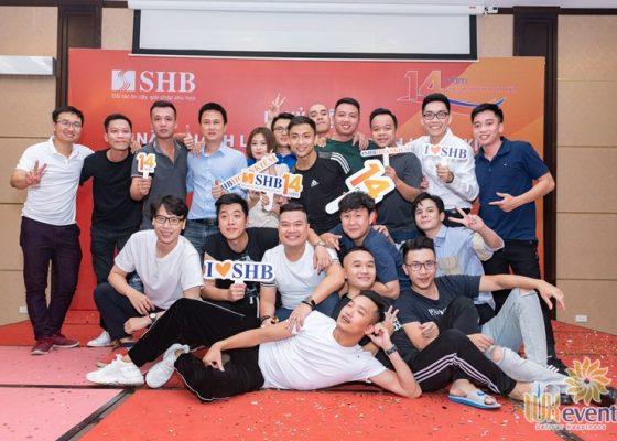 tổ chức lễ kỷ niệm thành lập chi nhánh SHB Hoàn Kiếm 021