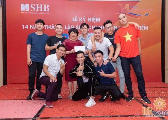tổ chức lễ kỷ niệm thành lập chi nhánh SHB Hoàn Kiếm 025