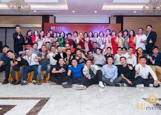 tổ chức lễ kỷ niệm thành lập chi nhánh SHB Hoàn Kiếm 006