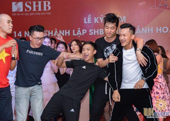 tổ chức lễ kỷ niệm thành lập chi nhánh SHB Hoàn Kiếm 026