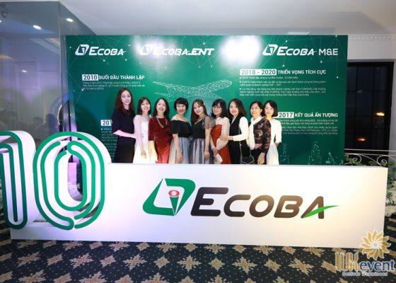 tổ chức tiệc tất niên cuối năm ECOBA Việt Nam 003