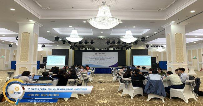 tổ chức hội thảo trực tuyến Học viện chính trị quốc gia Hồ Chí MInh 001