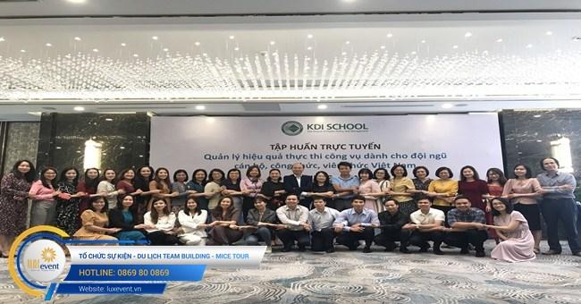 tổ chức hội thảo tập huấn trực tuyến Học viện Hành chính Quốc gia 001