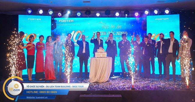 tổ chức lễ kỷ niệm thành lập Foster Bắc Ninh 001