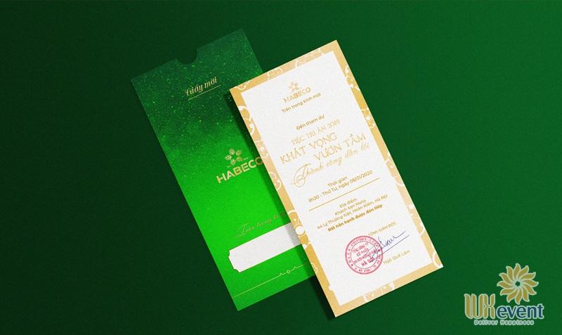 mẫu giấy mờihội nghị khách hàng của công ty