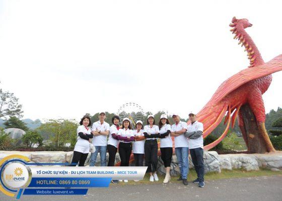 Tổ chức du lịch team building Mộc Châu La Vie Hà Nội 010
