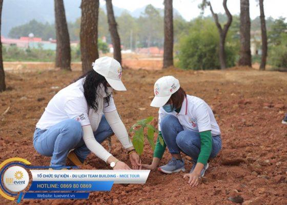 Tổ chức du lịch team building Mộc Châu La Vie Hà Nội 014