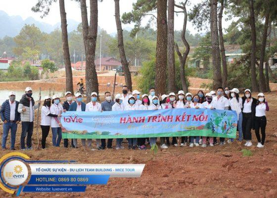 Tổ chức du lịch team building Mộc Châu La Vie Hà Nội 015