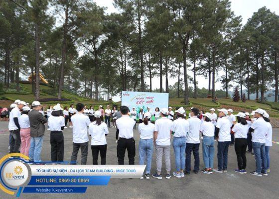 Tổ chức du lịch team building Mộc Châu La Vie Hà Nội 017