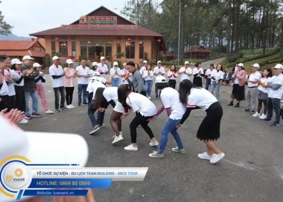 Tổ chức du lịch team building Mộc Châu La Vie Hà Nội 018