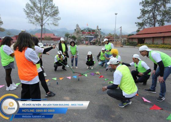Tổ chức du lịch team building Mộc Châu La Vie Hà Nội 022