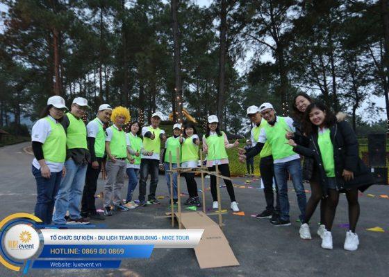 Tổ chức du lịch team building Mộc Châu La Vie Hà Nội 023