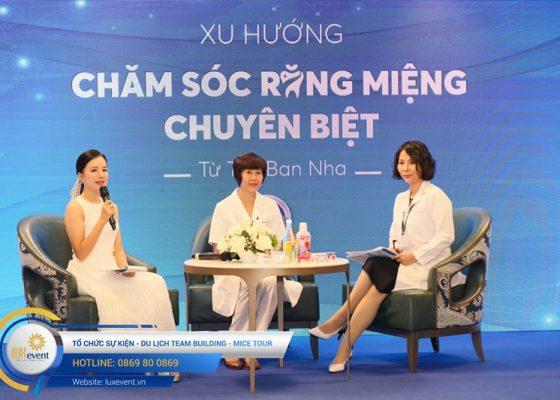 tổ chức hội thảo sức khỏe răng miệng Đài Linh Group 004