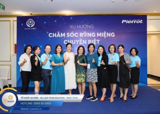 tổ chức hội thảo sức khỏe răng miệng Đài Linh Group 013