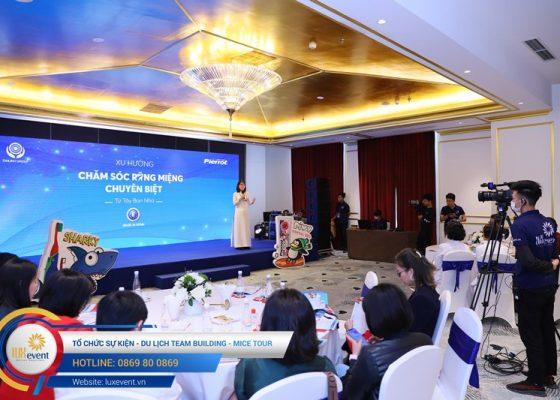 tổ chức hội thảo sức khỏe răng miệng Đài Linh Group 015